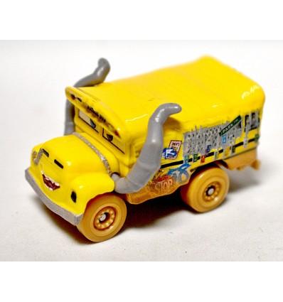 Disney Cars - HO Scale- Miss Fritter - School Bus