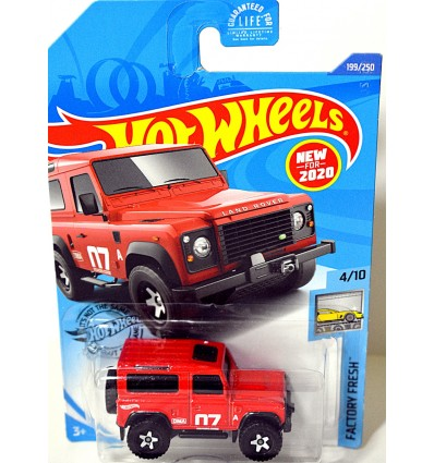Hot Wheels - Land Rover Defender 90
