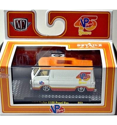 M2 Machines Auto-Thentics - VP Racing 1967 Dodge A100 Panel Van