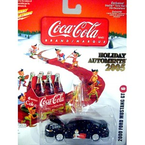 Johnny Lightning Coca-Cola Christmas Automent - Ford Mustang GT