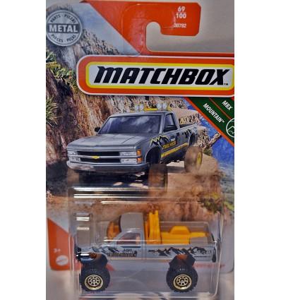 Matchbox - Chevrolet K-1500 4x4 Trailhiker Pickup Truck