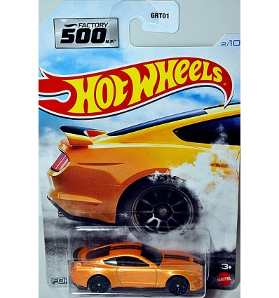 Hot Wheels - Factory 500 HP - Ford Shelby GT350R