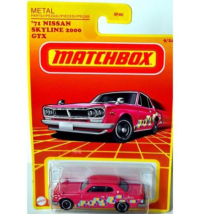 Matchbox Retro - 1971 Nissan Skyline 2000 GTX