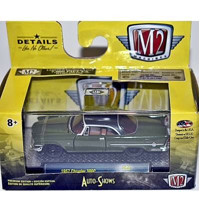 M2 Machines - Auto Shows - 1957 Chrysler 300 C Hardtop