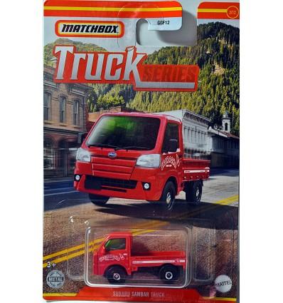 Matchbox Subaru Sambar Sriracha company Flatbed Truck