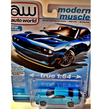 Auto World - 2019 Dodge Challenger R/T Scat Pack