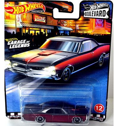 Hot Wheels - Premium - Boulevard - 1967 Pontiac GTO