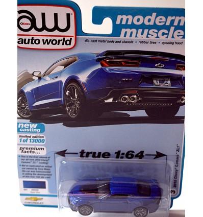 Auto World: 2018 Chevy Camaro ZL1