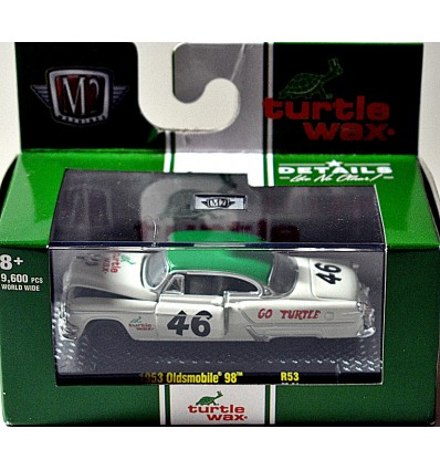 M2 - Turtle Wax - 1953 Oldsmobile 98 NASCAR Race Car