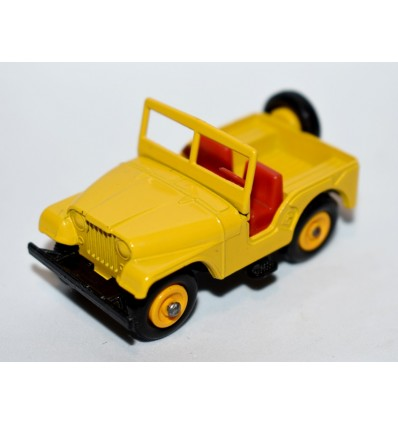 Matchbox Regular Wheels (72B-1) - Standard Jeep
