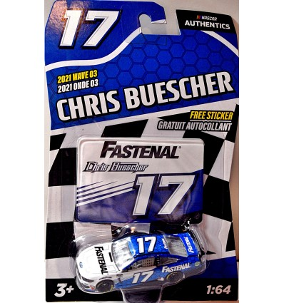 Lionel NASCAR Authentics - Chris Buescher Fastenal Ford Mustang