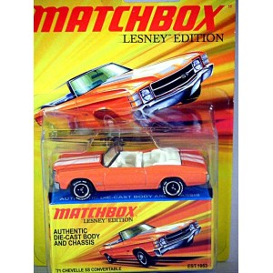 Matchbox Lesney Superfast Edition - 1971 Chevrolet Chevelle SS-454 Convertible