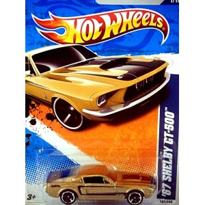 Hot Wheels 1967 Ford Mustang Shelby GT-500