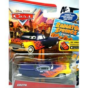 Disney CARS - Desoto w/ 50's Flame Job - Greta