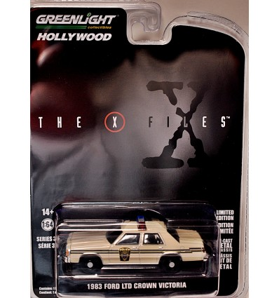 Greenlight Hollywood - The X Files - 1983 Ford Crown Victoria