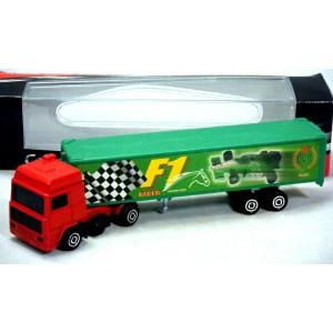 Majorette Trailers Series - F1 Racing Transporter