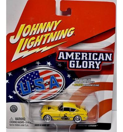 Johnny Lightning - American Glory - 1954 Chevrolet Corvette Corvair