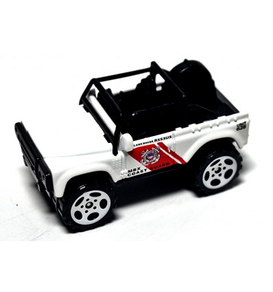 Matchbox - Coast Guard Land Rover SVX