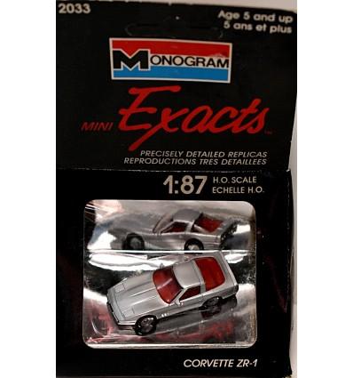 Monogram Mini Exact Series - Chevrolet Corvette ZR-1 Coupe