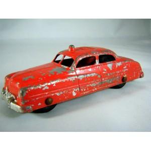 Tootsietoy 1949 Mercury Fire Chief Car