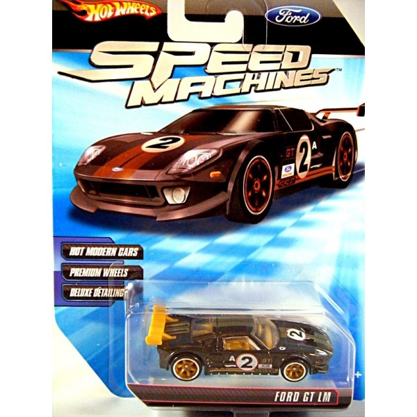 Hot Wheels Speed Machines Ford Gt Lm Supercar
