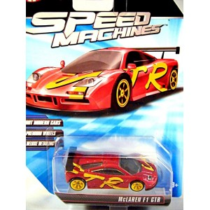 Hot Wheels Speed Machines McLaren F1 GTR Supercar - Global ...