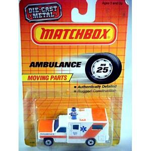 Matchbox Chevrolet EMT Ambulance