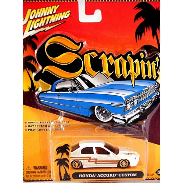 Johnny Lightning Scrapin Honda Accord Lowrider Global