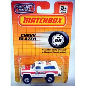 Matchbox Sheriff Department Chevrolet Blazer Police Truck