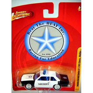 Johnny Lightning Beat the Heat Gerald Cooley 1981 Chevrolet Malibu