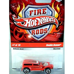 Hot Wheels Fire Rods - Double Demon Ford Tudor Hot Rod
