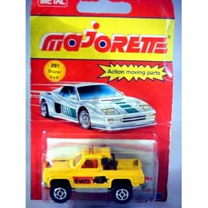 Majorette Chevrolet Blazer 4x4 Truck