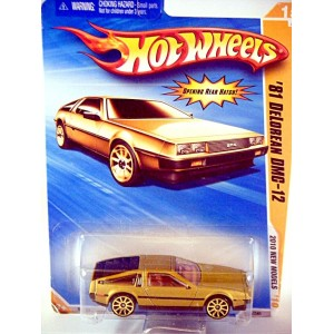 Hot Wheels 2010 New Models Series: 1981 DeLorean DMC-12