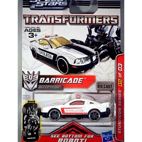 Hasbro Transformers Metal Series: Barricade Ford Mustang ...