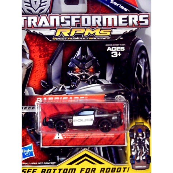 Hasbro Transformers Metal Series: Barricade Ford Mustang ...