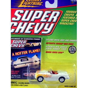 Johnny Lightning Super Chevy - 1954 Chevrolet Corvette