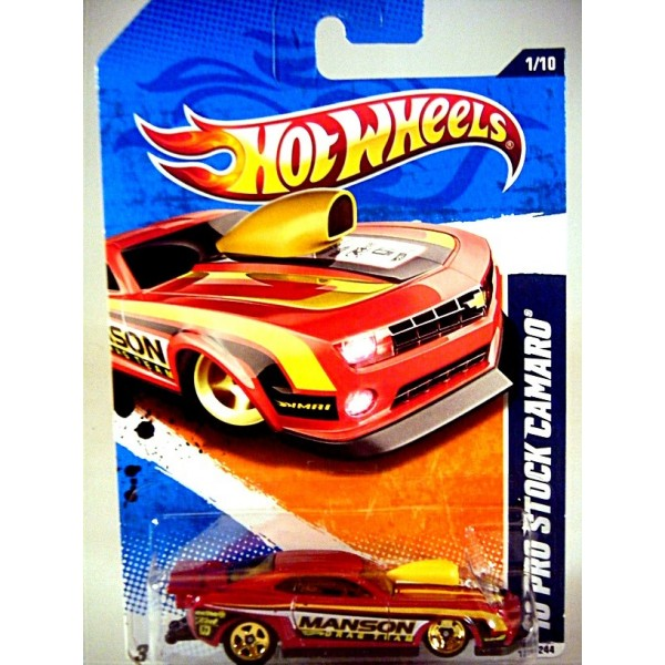 Hot Wheels 2010 Chevrolet Camaro NHRA Pro Stock Race Car ...