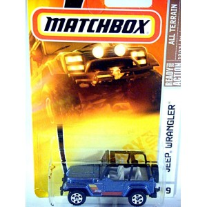 Matchbox Jeep Wrangler 4x4