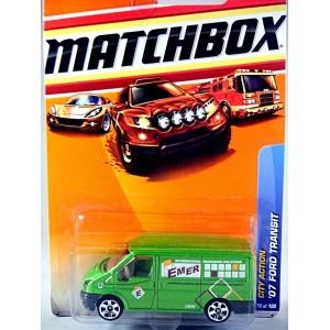 Matchbox Ford Transit Van - EMER