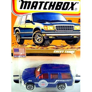 Matchbox 2000 Millennium Logo Chase Series - City of Cleveland Chevrolet Tahoe