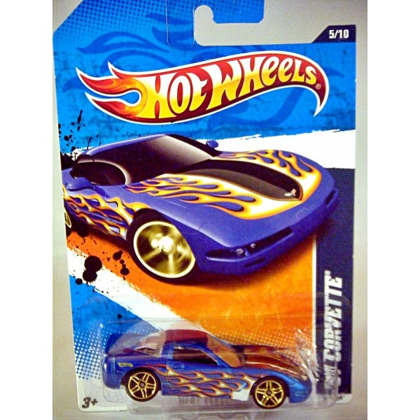 Hot Wheels Chevrolet Corvette C5 Coupe With Flame Job Global
