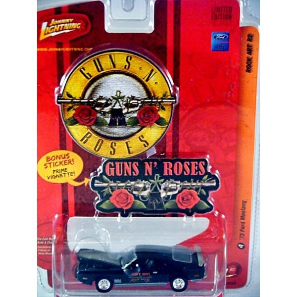 Johnny Lightning Rock Art Guns N Roses 1973 Ford