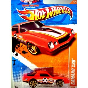 Hot Wheels 1970's Chevrolet Camaro Z-28