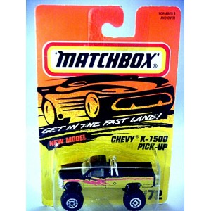 Matchbox - Chevrolet K-1500 4x4 Pickup Truck