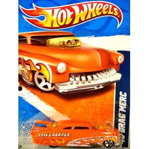 Hot Wheels 2010 New Models Series 1949 NHRA Drag Merc - Mercury Race Car