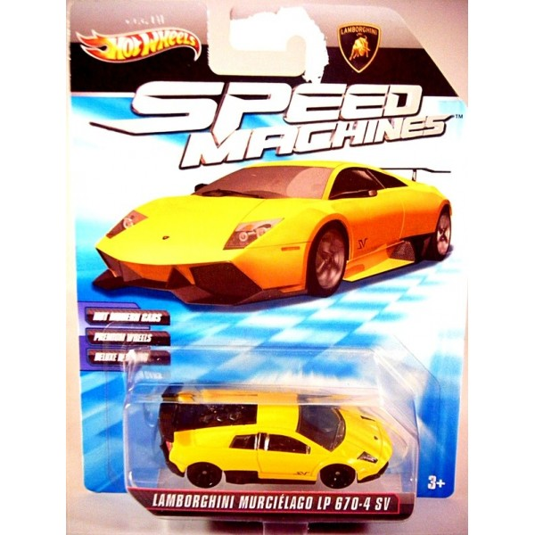 Hot Wheels Speed Machines Series Lamborghini Murcielago Lp 670 4