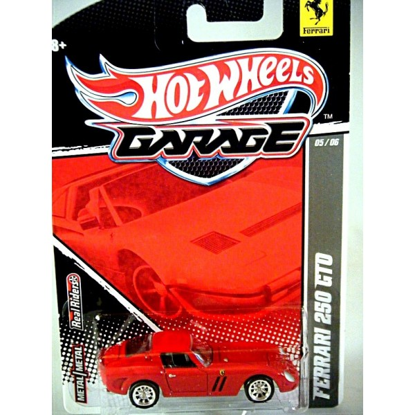 Hot Wheels Garage Ferrari 250 Gto Global Diecast Direct