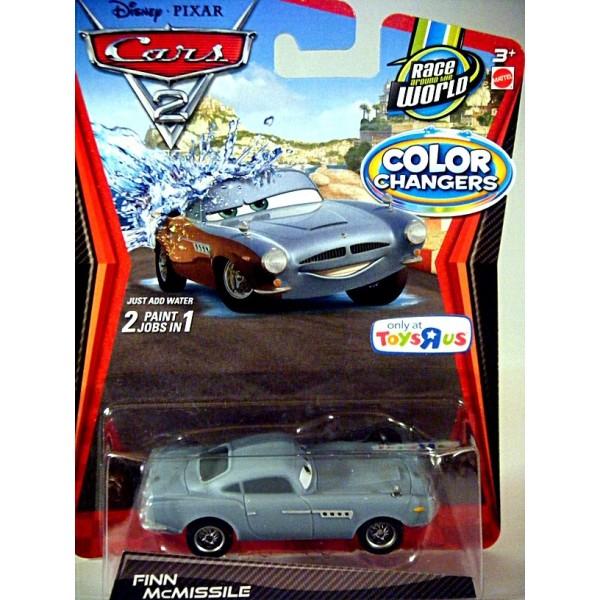 Finn Mcmissile Cars 2: Finn McMissile Aston Martin Color Changer