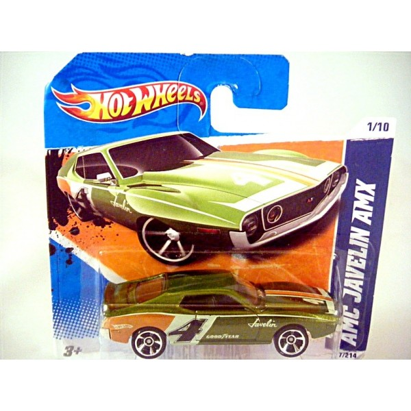 Hot Wheels Amc Javelin Amx Muscle Car Global Diecast Direct