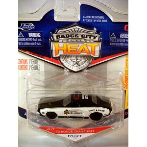 Jada - Badge City Heat - Dodge Callenger Sheriff Police Car